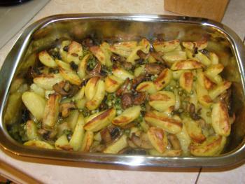 самый вкусный рецепт картошки с мясом в духовке