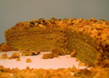 Рецепт медовый торт