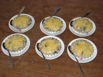 Рецепт салаты с кукурузой и грибами