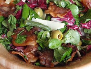 рецепты мясных салатов на скорую руку