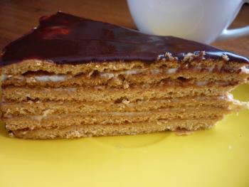торт медовик рецепт фото